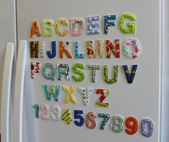best gifts kids age 2 to 4 handmade magnet letters