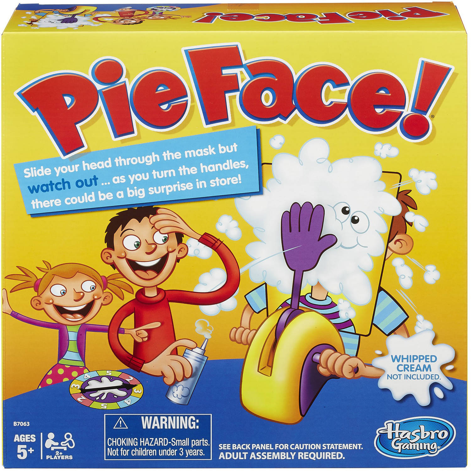 FREE Pie Face Board Game from Walmart and BeFrugal