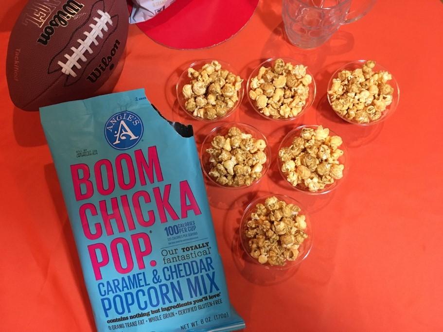 Angie's BOOMCHICKPOP mini popcorn bowls