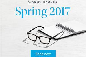 Warby Parker Spring line