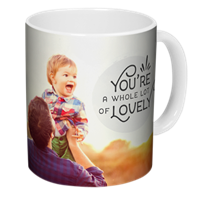 Personalized mug for $1