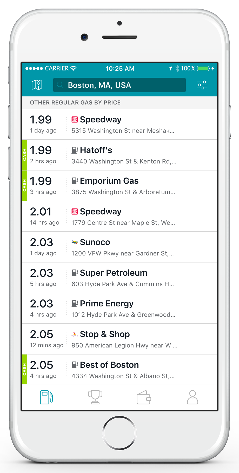 Save with GasBuddy! A FREE App that Shows Gas Prices Wherever You Go