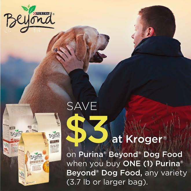 Save $3 on Purina Beyond Dog Food at Kroger
