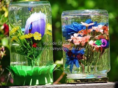 Flower Globes Kid Craft