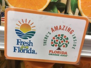 The Fresh From Florida label