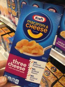 Kraft Three Cheese shells