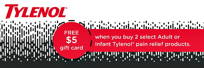 $5 Target Gift Card When You Buy Tylenol