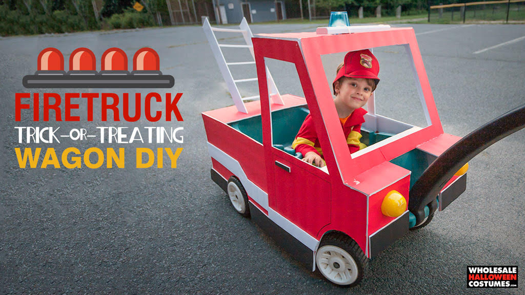 7 Tutorials to DIY Your Wagon for Halloween