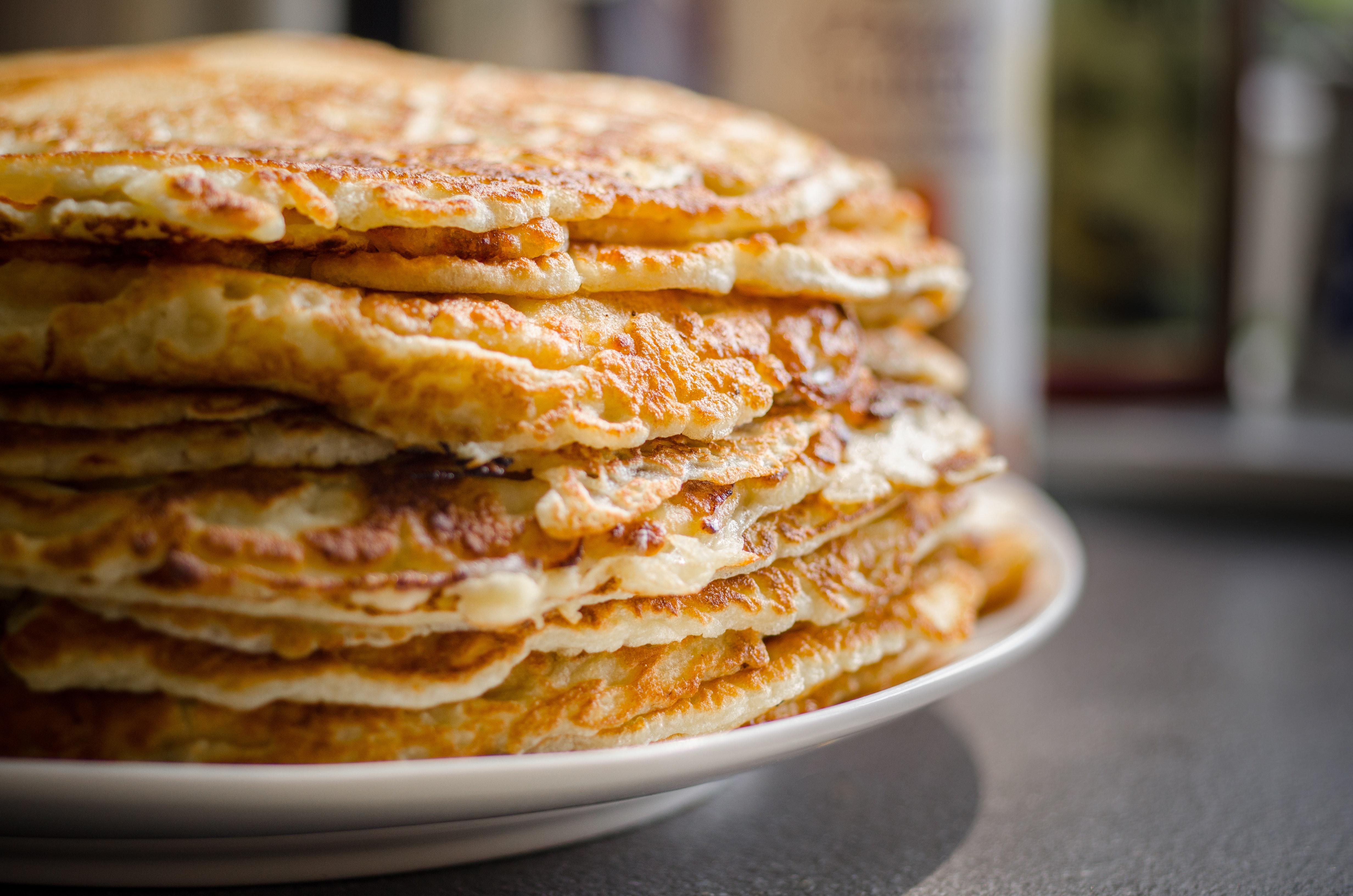 cinnamon keto pancake