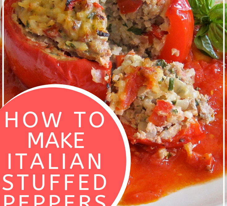 How to Make Italian Stuffed Peppers