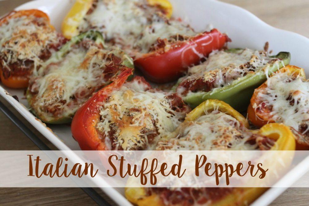 How to Make Italian Stuffed Peppers
